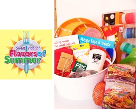Win a fabulous $100 Givft Card for Sur la Table and an entertaining prize pack all donated by Flavors of Summer. Just ONE of the fabulous prize sets in our #BrunchWeek 2013 giveaway.