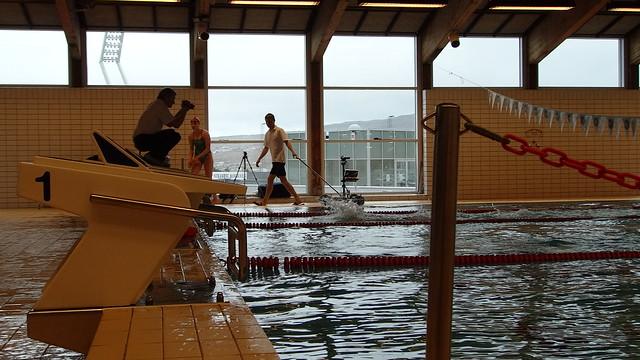 Haljand-test in Tórshavn 4 May 2013