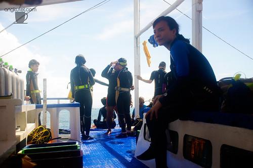 Diving in Balicasag Island, Bohol