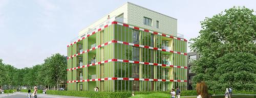 Edificación en base a algas para ahorrar energía