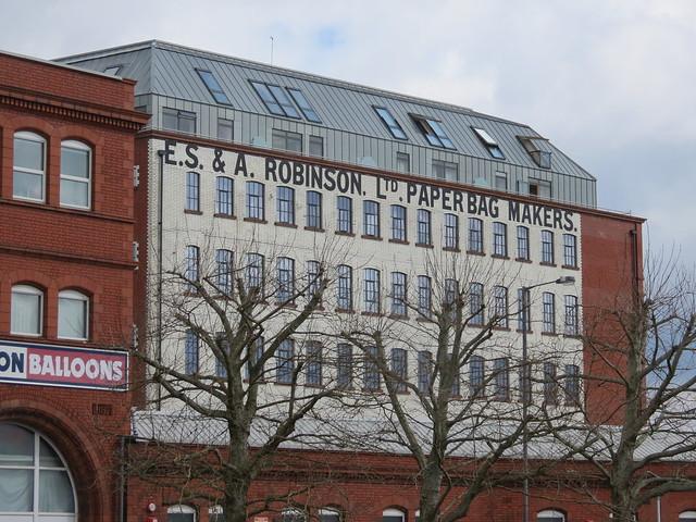 E.S. & A. Robinson. Ltd. Paper Bag Makers.