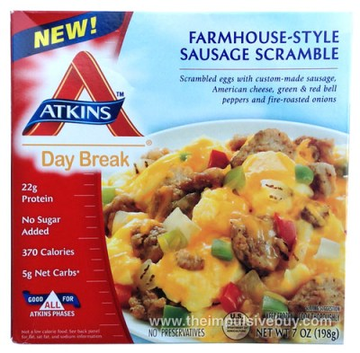 Atkins Day Break Farmhouse-Style Sausage Scramble