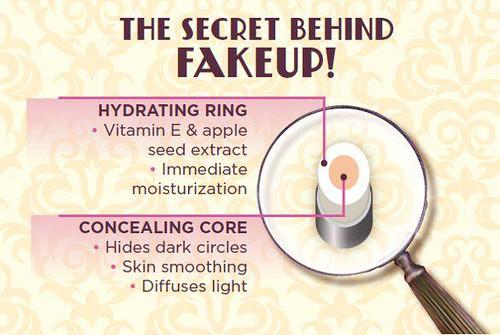 The secret behind fake up