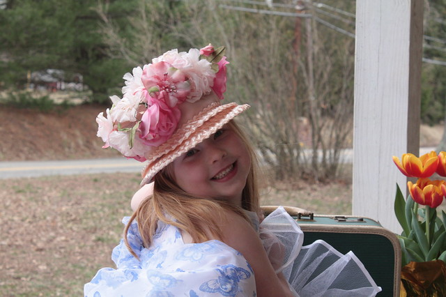 In your Easter bonnet...