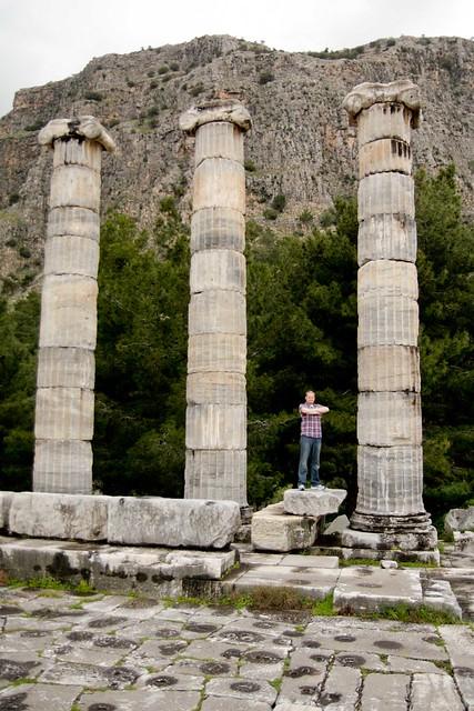 columns at Priene