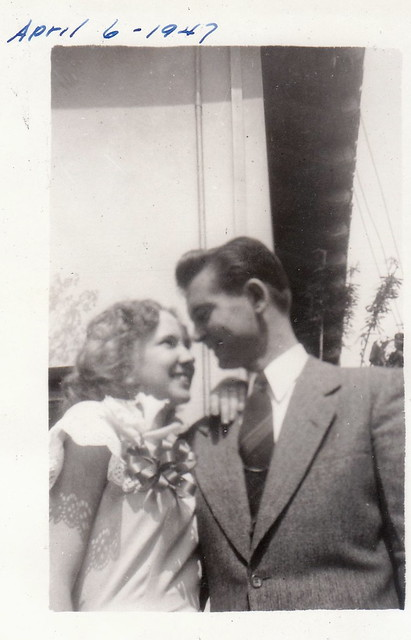 ben and bonny Easter Sunday 1947-2