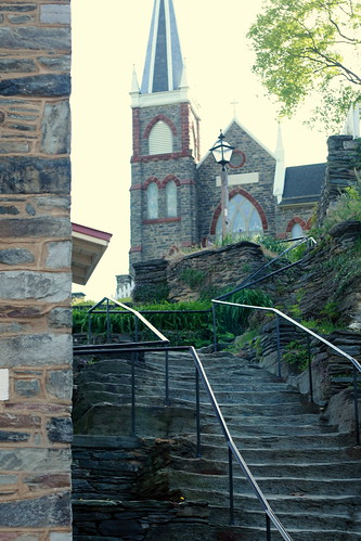 Appalachian Trail stairs at Harper's Ferry