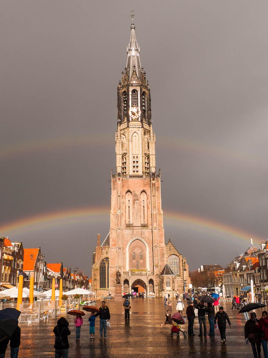 Arco iris en Delft