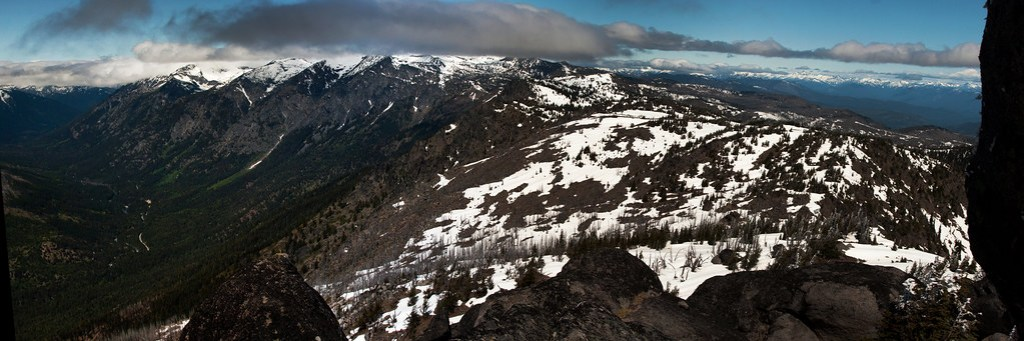 Top of Icicle Ridge