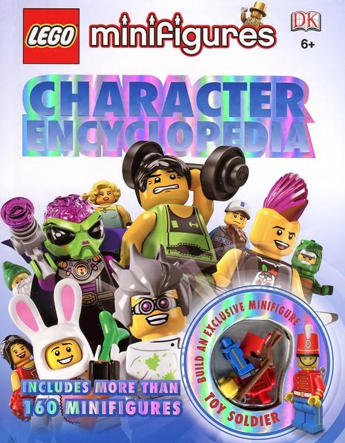 LEGO Minifigures Character Encyclopedia cover1