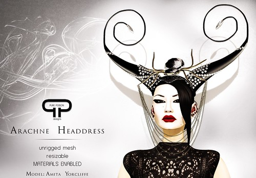 Pure Poison - Arachne Headdress
