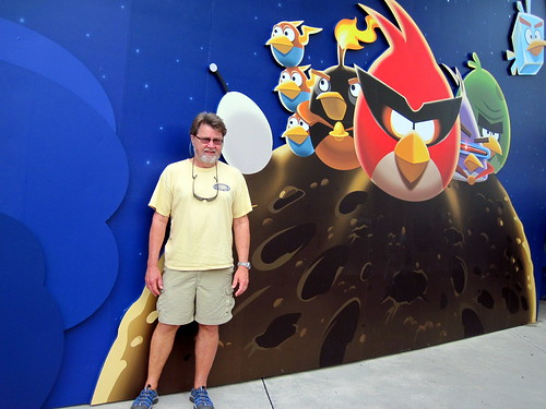 Angry Birds experience was bogus
