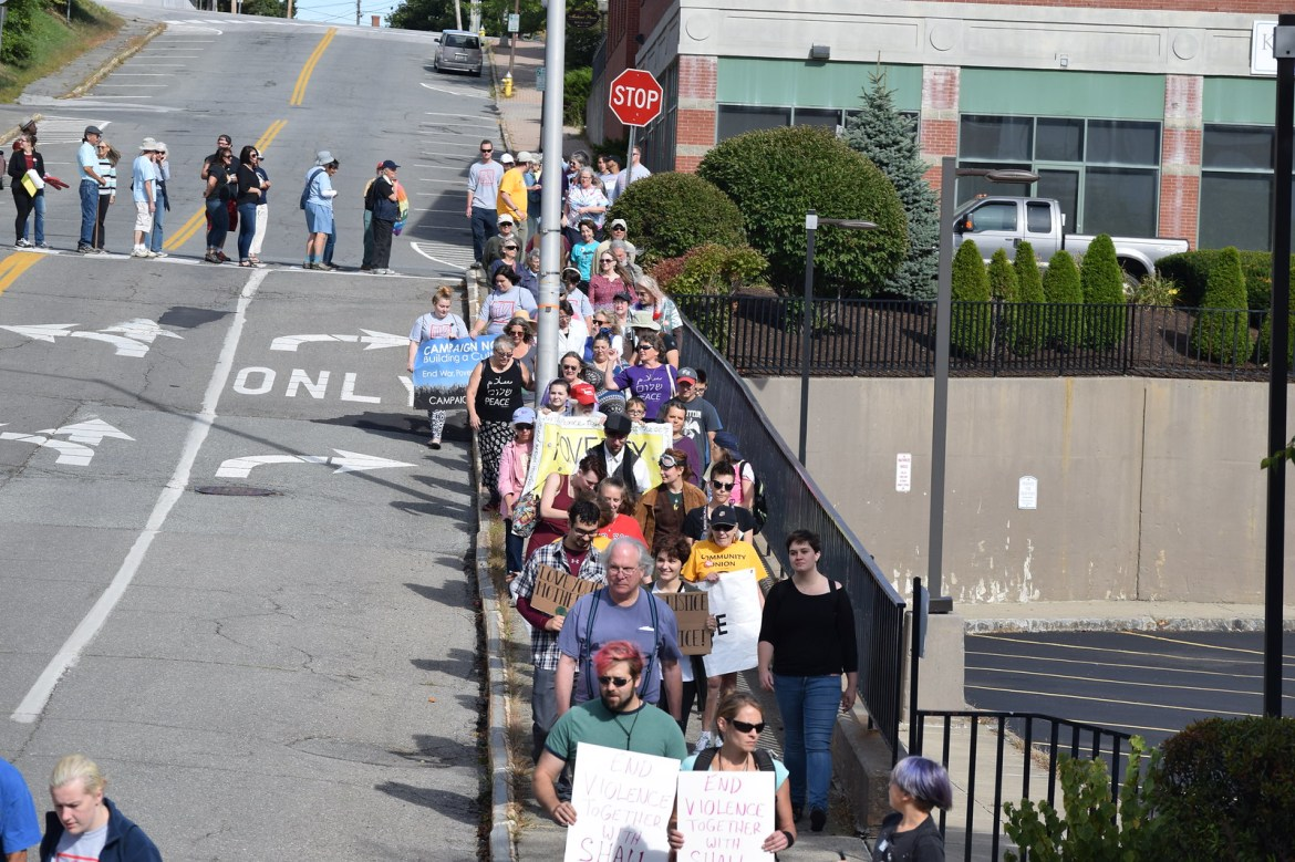 Bangor, ME End Violence Together Rally - CNV 2016 (24)
