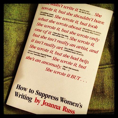 How to Suppress Women's Writing, Joanna Russ