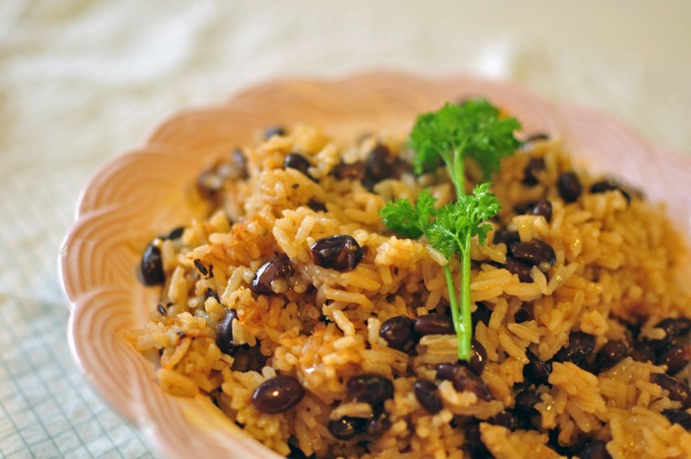 Black Beans and Rice 3