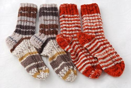 Ribbed toddler socks