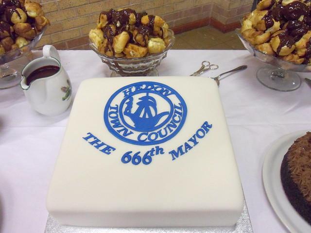 666th Hedon Mayor Cake