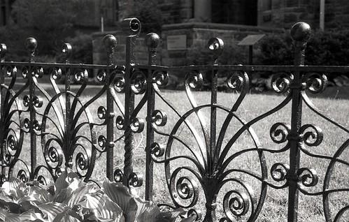 Black Iron Fence 1
