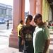Jorgito y René Frente al Capitolio