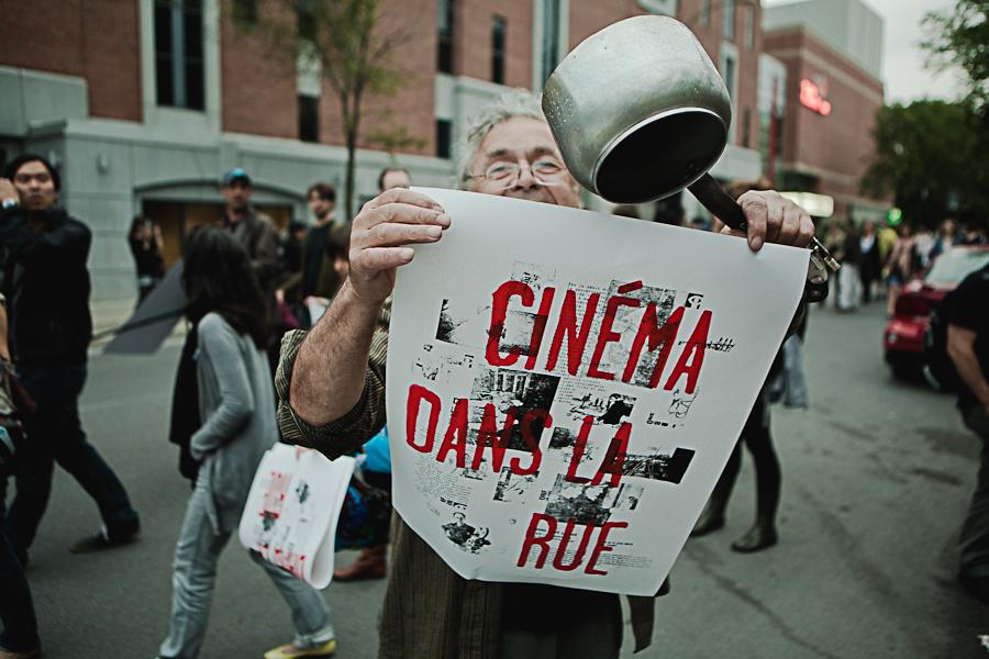 Cinéma dans la rue! [photos Thien V]