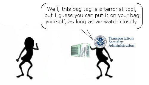 TSA Lets You Tag Your Bag