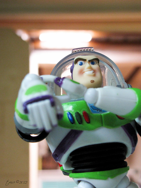 Revoltech Buzz Light Year toy