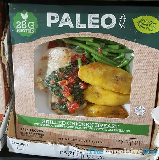 Tastefully Plated Paleo Grilled Chicken Breast