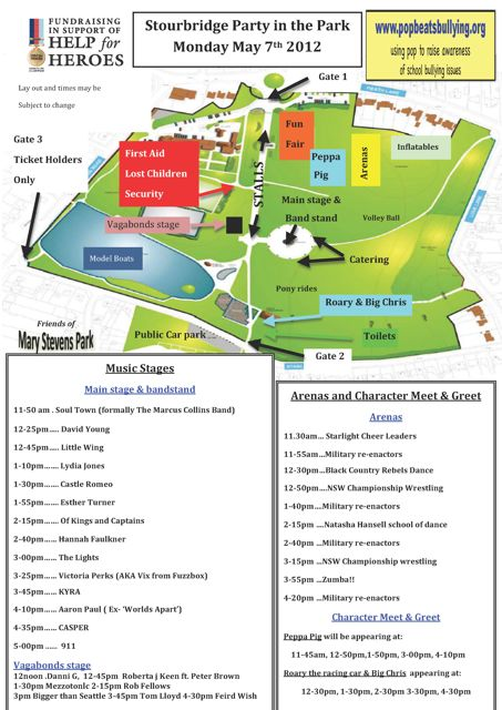 Party In The Park Monday 7th May 2012 Mary Stevens Park, Stourbridge