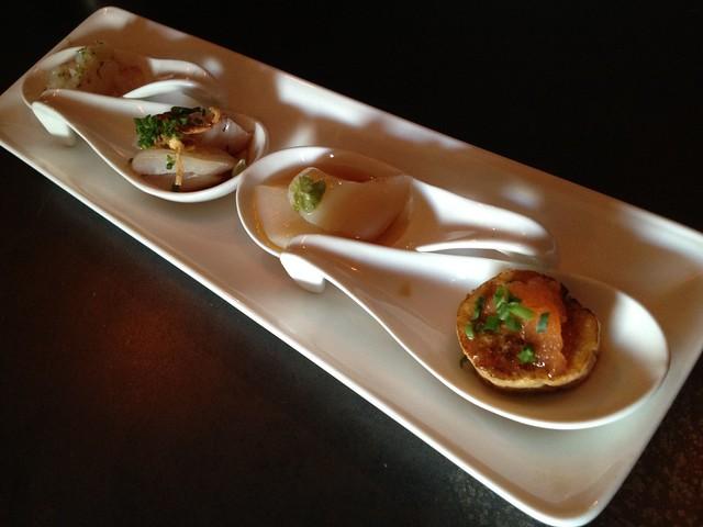Tasting spoons - Saru Sushi Bar