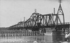 Milwaukee  Road Bridge over the Mississippi.