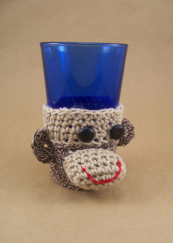 Monkey Cup Sleeve by Dana Jordan