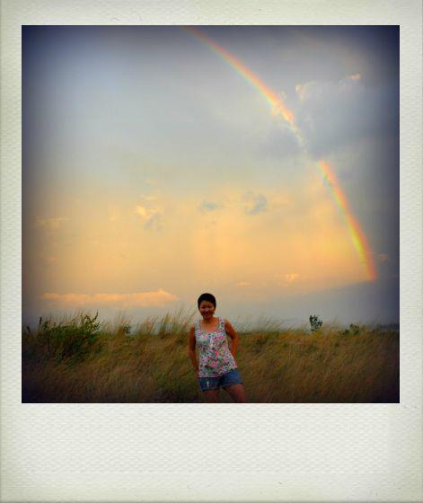 La Paz rainbow