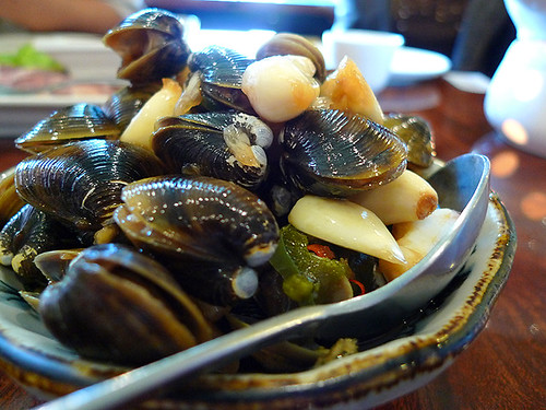 Fresh Water Clams at Cafe Fusion (Taiwanese)