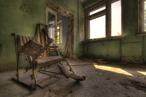 Pripyat Hospital chair