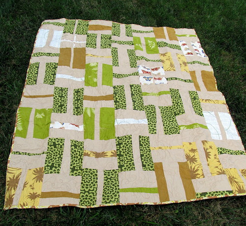 Brown & Green Quilt