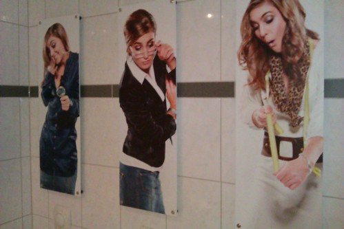 Toilet artwork