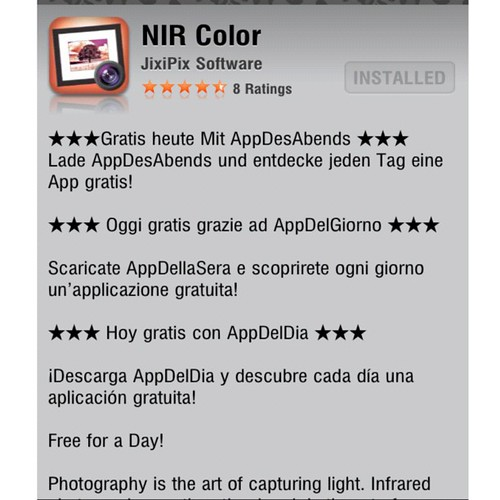 Free for a limited time NIR Color by damn_que_mala