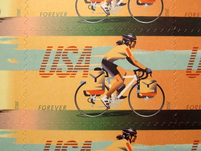 US Bike Stamps - 2