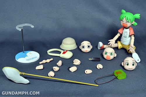 Revoltech Yotsuba DX Summer Vacation Set Unboxing Review Pictures GundamPH (36)
