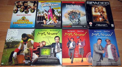 20120603 - yardsale booty - 3 - dvds - IMG_4282
