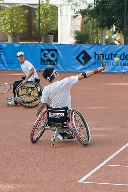 Open de France de tennis handi sport