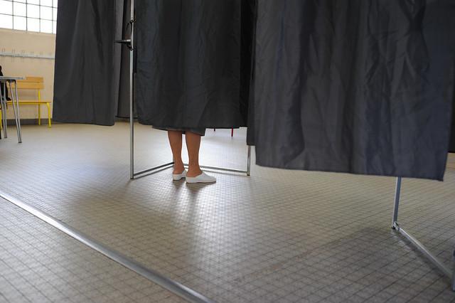 Le premier tour de la présidentielle 2012 - © Razak