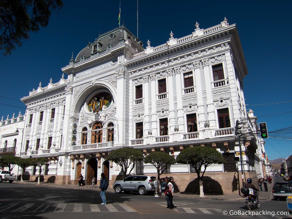 A beautiful example of republican architecture, the Chuquisaca Governorship Palace was the initial Palace of Government when it was completed in 1896.