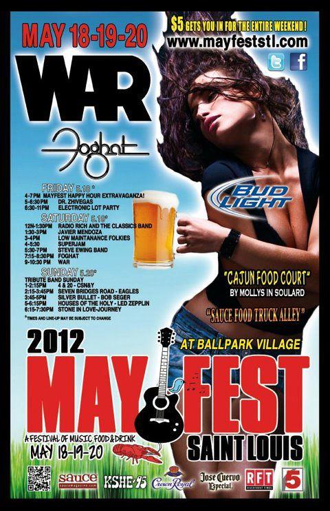 May Fest 5-18 thru 5-20
