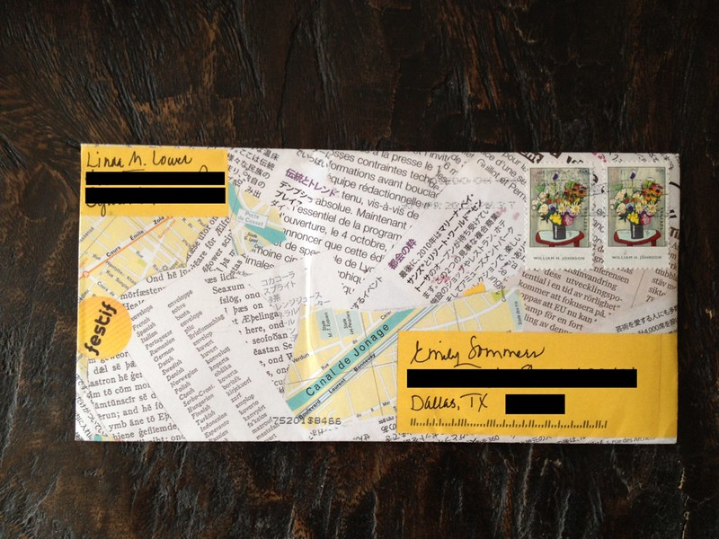 Incoming Mail Elevated Envelope 1
