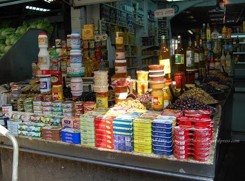 Shuk HaCarmel Maganda and Gwapo stall