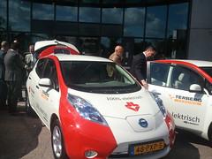 Nissan Leaf voor Strukton Worksphere 5