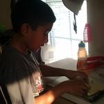 Jaylen making his piggie