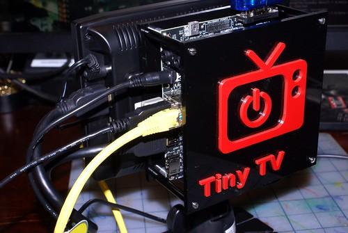 Pandaboard Tiny TV Back View