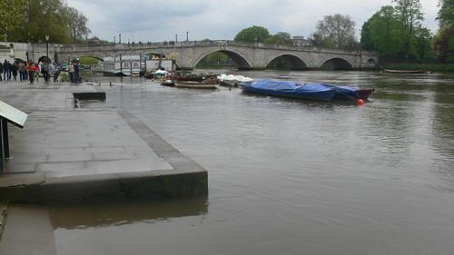 Supermoon tide in Richmond